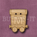 Name Train Button Letter M