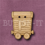 Name Train Button Letter P