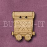 Name Train Button Letter X