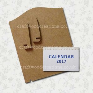 Craftwood Calendar Kit