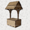 3D Craftwood Wishing Well