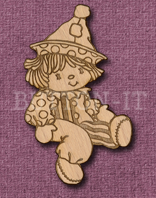 Laser Engraved Rag Doll Craft Shape