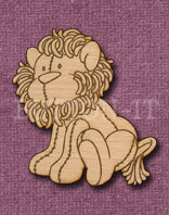 Laser Engraved Soft Lion Craft Shape