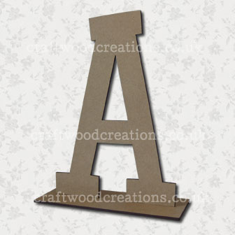 Free Standing Mdf Letter A