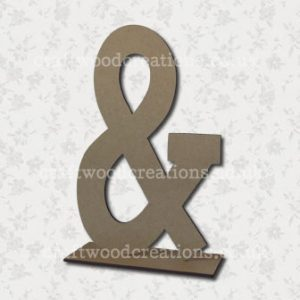 Free Standing Mdf Letters And
