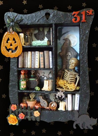 Halloween Cabinet 9