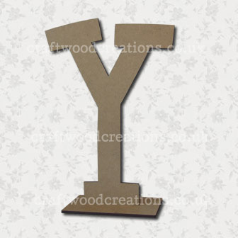Free Standing Mdf Letters Y