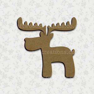 Reindeer Laser Cut Mdf Shape