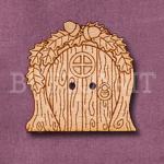 1131 Woodland Fairy Door Button