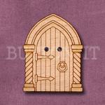 1132 Gothic Fairy Door Button