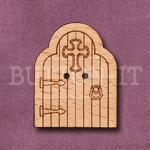 1133 Spiritual Fairy Door Button