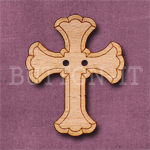 1134 Cross Button