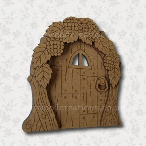 "Mdf Fairy Door ""Hedgerow"""