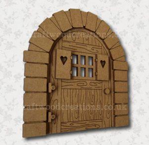"""Mdf Fairy Door """"Sweetheart"""""""