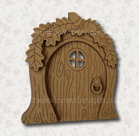 Mdf Fairy Door Woodland