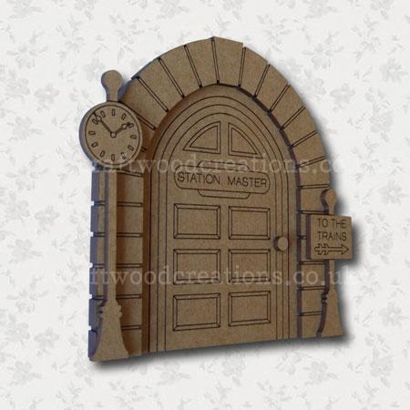 Station Master Door