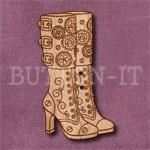 Steampunk Boots Button
