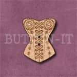 Steampunk Corset Button