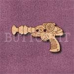 Steampunk Ray Gun Button