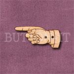Steampunk Hand Button