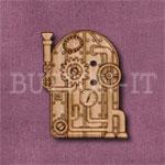 Steampunk Boiler Button