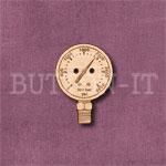 Steampunk Pressure Gauge Button