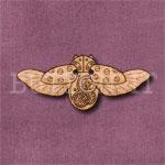 Steampunk Ladybird Button