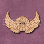 Steampunk Winged Clock Button