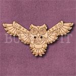 Steampunk Owl Button