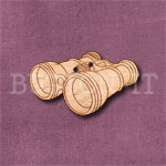 Steampunk Binoculars Button
