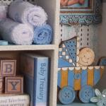 Baby Boy Keepsake Cabinet