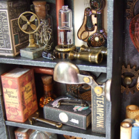 Cabinet of Steampunk Curiosities