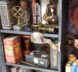 Cabinet of Steampunk Curiosities