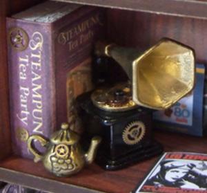 Steampunk Cabinet of Curiosities