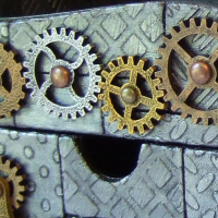 Steampunk Desk Organiser