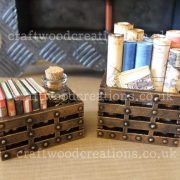 3D Mdf Miniature Crates