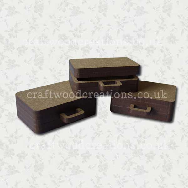Mdf Miniature Suitcases