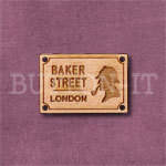 Baker Street Sign Button