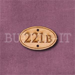 221b Sign Button