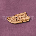 Tobacco Persian Slipper Button
