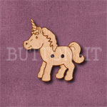 Cute Unicorn Button