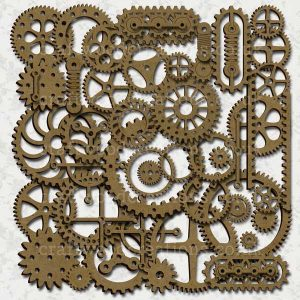 Steampunk Cog and Elements Mega Pack