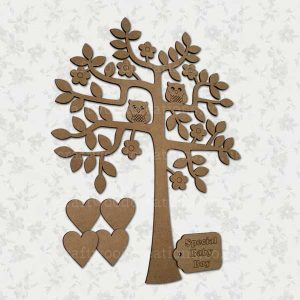 "Family Tree and ""Special Baby Boy"" Tag"