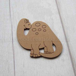 Dinosaur MDF Shape