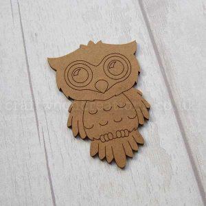 Owl MDF Shape