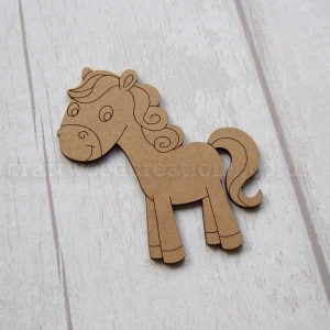 Pony MDF Shape