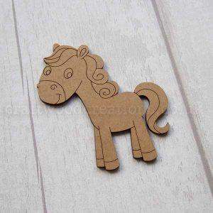 Pony MDF Shape