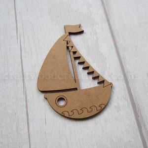 Sail Boat MDF Shape