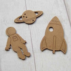 Space Mdf Shape Set