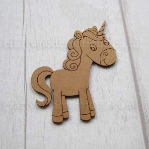 Unicorn MDF Shape